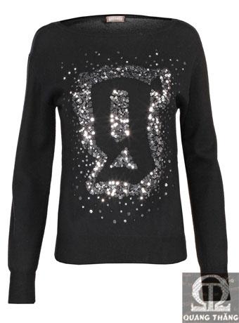 Áo len Galliano Pullover black
