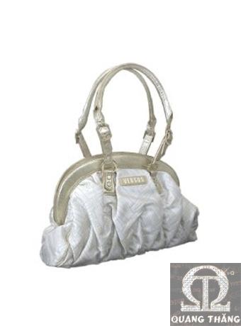 Túi xách Versace Large Gold&White