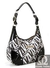 Túi xách Versace Medium Black & White
