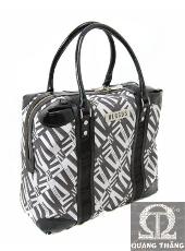 Túi xách Versace Large Black & White