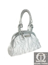 Túi xách Versace Large Silver&White