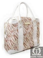 Túi xách Versace Large Tan & White