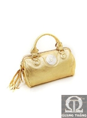 Túi xách Versace Gold leather